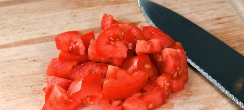 Tártaro de tomate