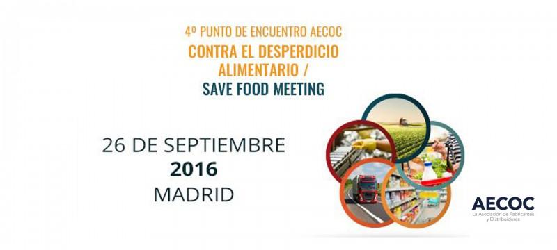 AECOC colabora con la iniciativa internacional Save Food en la celebración de su IV Punto de encuentro contra el desperdicio alimentario