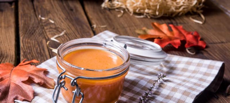 Crema dulce de polenta y zanahoria