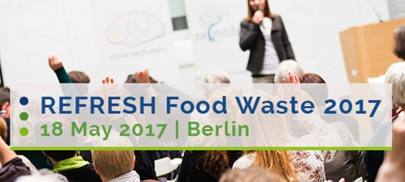 REFRESH reunirá a líderes europeos para debatir sobre el desperdicio alimentario