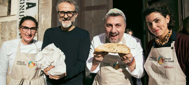 Revalorizando los alimentos con Food For Soul, el programa social del chef Massimo Bottura