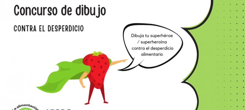Ganadores del Concurso Dibuja un Superhéroe o Superheroína Contra el Desperdicio de Alimentos
